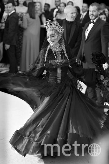 Мадонна на гала-концерте в Институте костюма моды и католического воображения в Метрополитен-музее искусств. Фото Getty