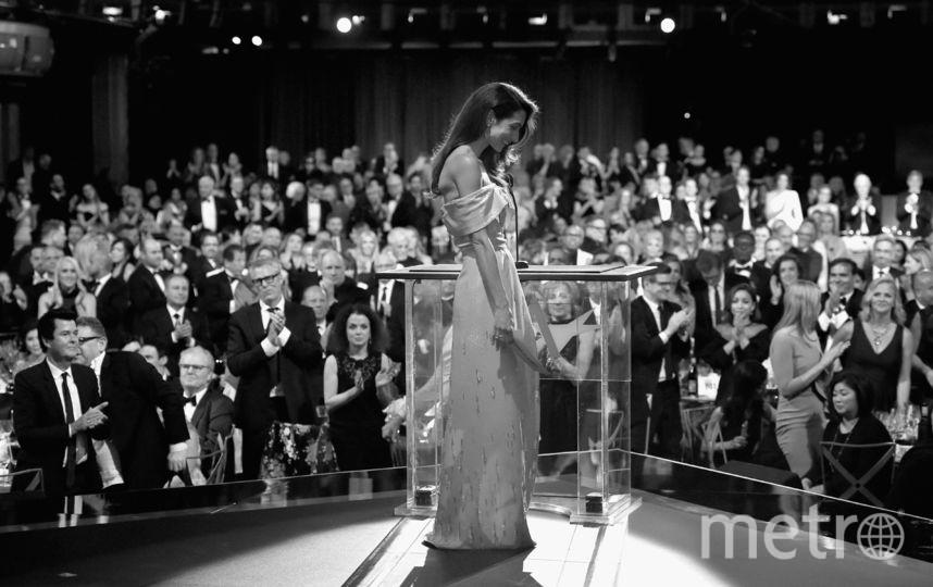 Амаль Клуни во время 46-й церемонии вручения награды Американского института кинематографии за заслуги Джорджа Клуни. Фото Getty