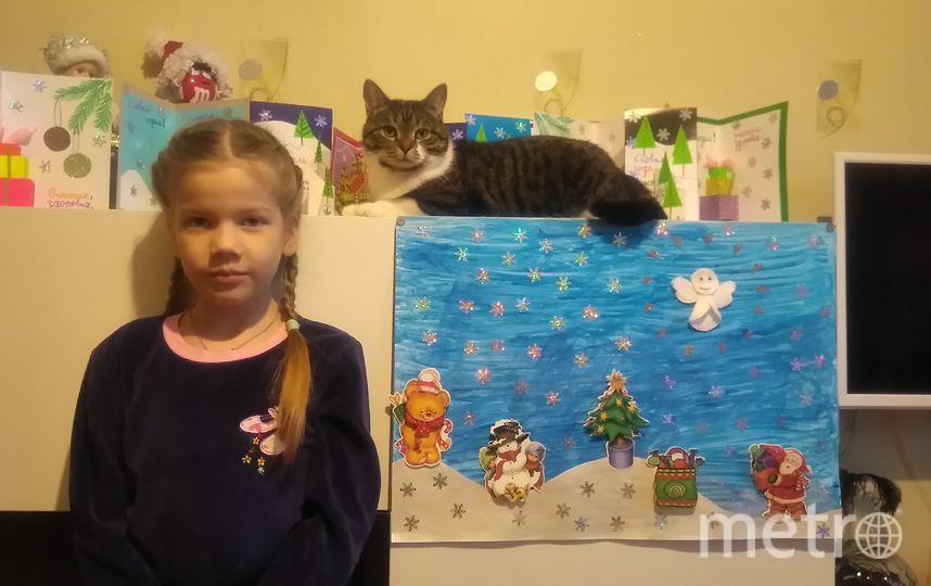"""Соболева Настя, 7 лет. Фото """"Metro"""""""