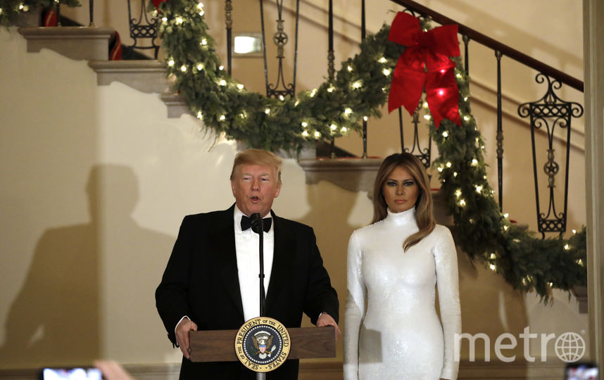 Дональд и Мелания Трамп на балу Конгресса. Фото Getty