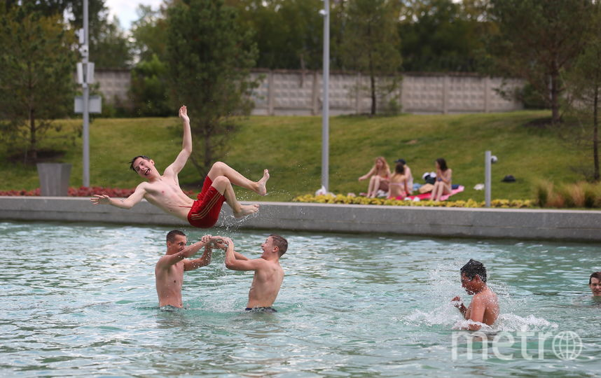 «Тюфелева роща» с перголой и «бассейном». Фото Василий Кузьмичёнок