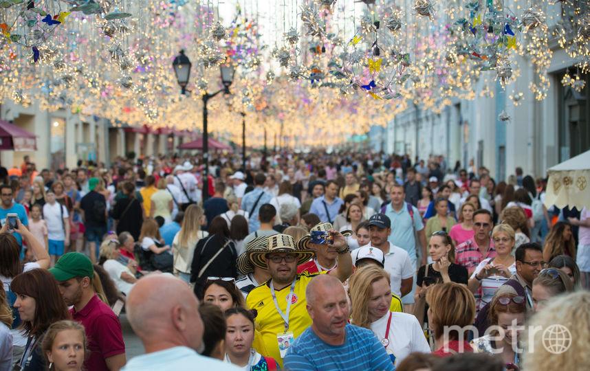 Никольская стала центром мира. Фото Василий Кузьмичёнок