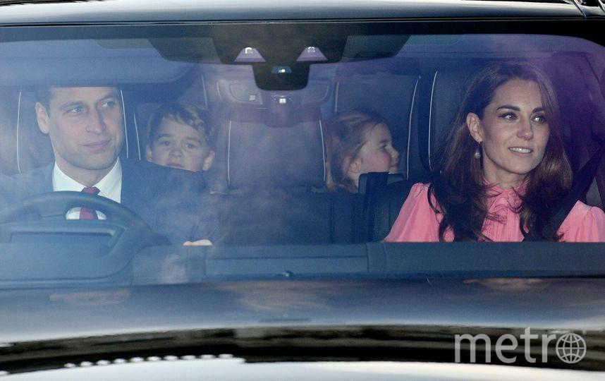 "Дети Кейт Миддлтон после обеда у королевы. Фото https://www.instagram.com/p/BrllrtSlAjd/, ""Metro"""