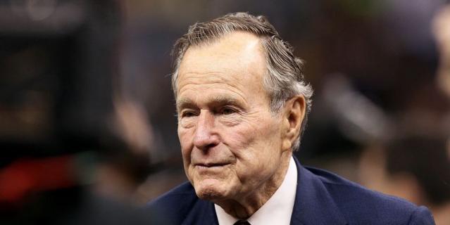 Джордж Буш - старший.