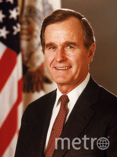 Экс-президент США Джордж Буш-старший. Фото Getty