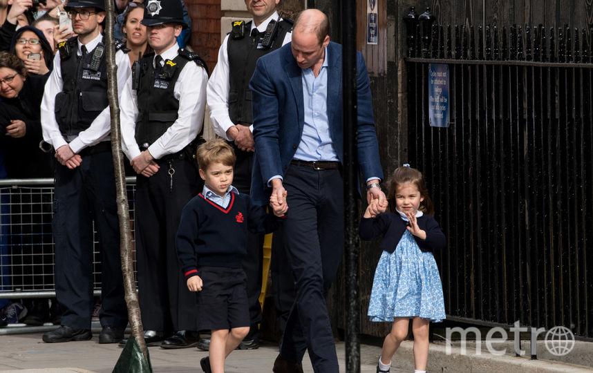 Принц Уильям с детьми. Фото архив, Getty