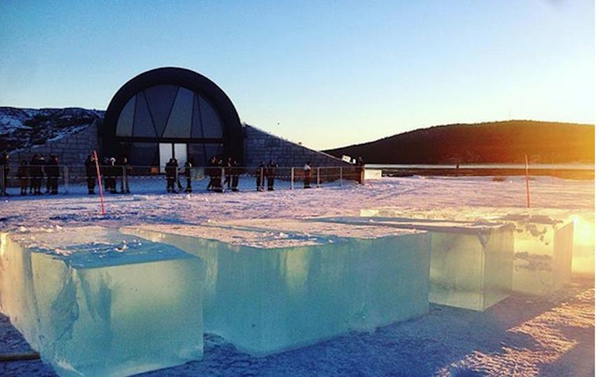 Icehotel. Фото Скриншот https://www.instagram.com/maurizio.perron/