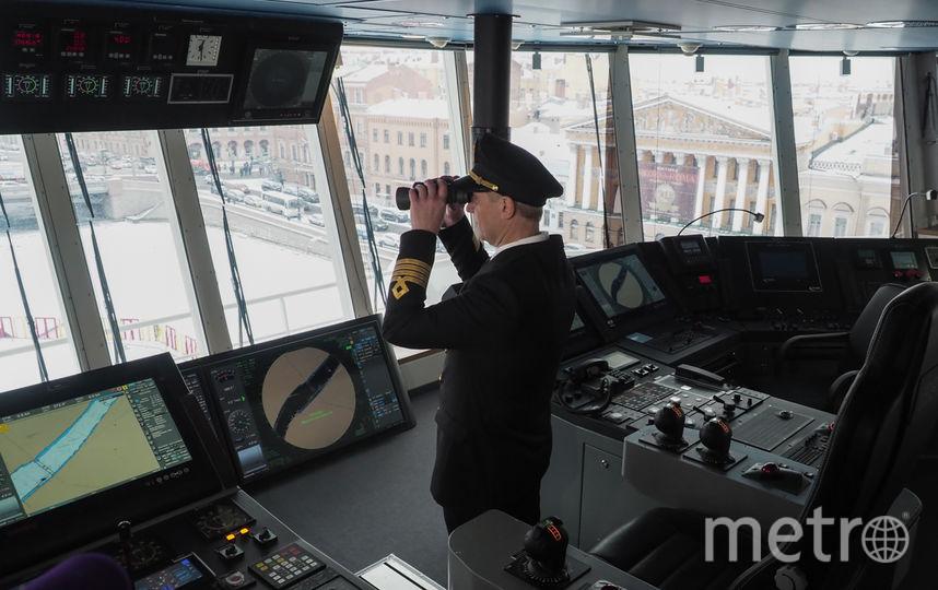 "Ледокол «Андрей Вилькицкий». Фото Святослав Акимов, ""Metro"""