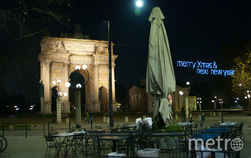 """Арка Мира в Милане. Фото Анна Лутченкова, """"Metro"""""""