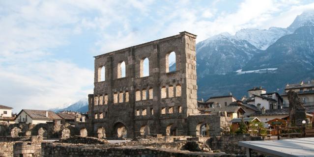 Римский театр в Аосте.