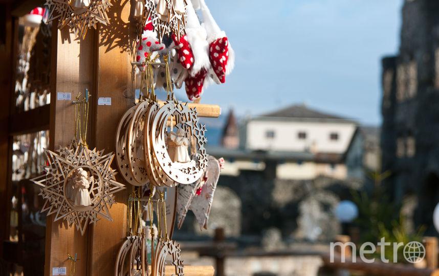 "Рождественская ярмарка в Аосте. Фото Анна Лутченкова, ""Metro"""