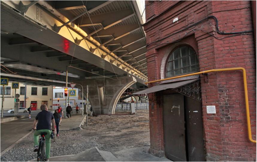 "В Петербурге возвели мост Бетанкура.. Фото ""Metro"""