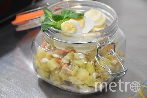 """Секрет идеального оливье – в соотношении продуктов. Фото тru-kitchen.ru, """"Metro"""""""
