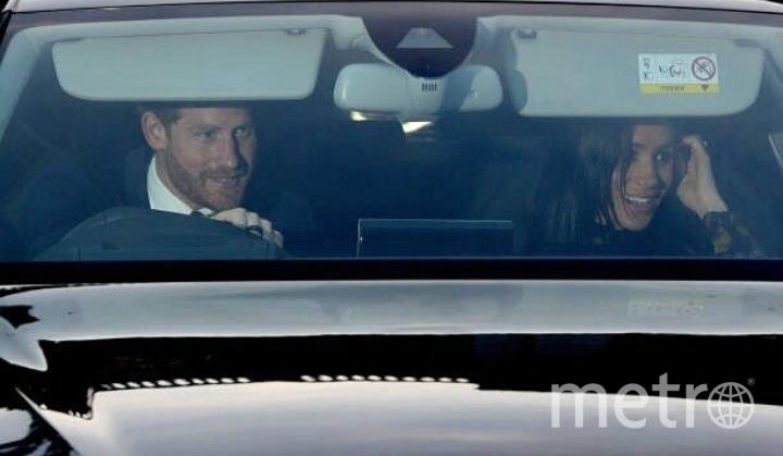 Меган Маркл на обеде у королевы была в платье 2-летней давности. Фото https://www.instagram.com/_duchess_of_sussex/