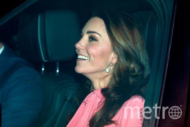 """Кейт Миддлтон на ланч у королевы надела розовый наряд за 300 фунтов. Фото https://www.instagram.com/_duchess_of_sussex/, """"Metro"""""""