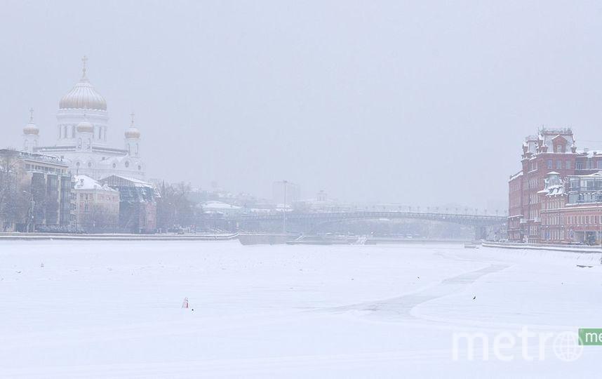 Погода в Москве с 21 по 23 декабря: снег, метель и потепление до минус 2 градусов. Фото Василий Кузьмичёнок