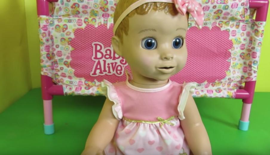 Кукла Лувабелла. Фото Скриншот, Скриншот Youtube
