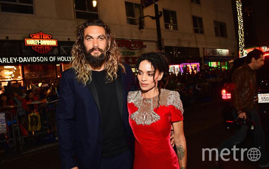 Джейсон Момоа с женой, актрисой Лизой Боне. Фото Getty
