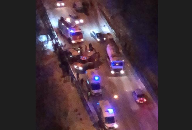 В результате ДТП пострадали три человека. Фото vk.com/spb_today