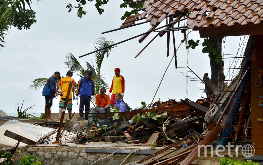 Последствия стихийного бедствия. Фото AFP