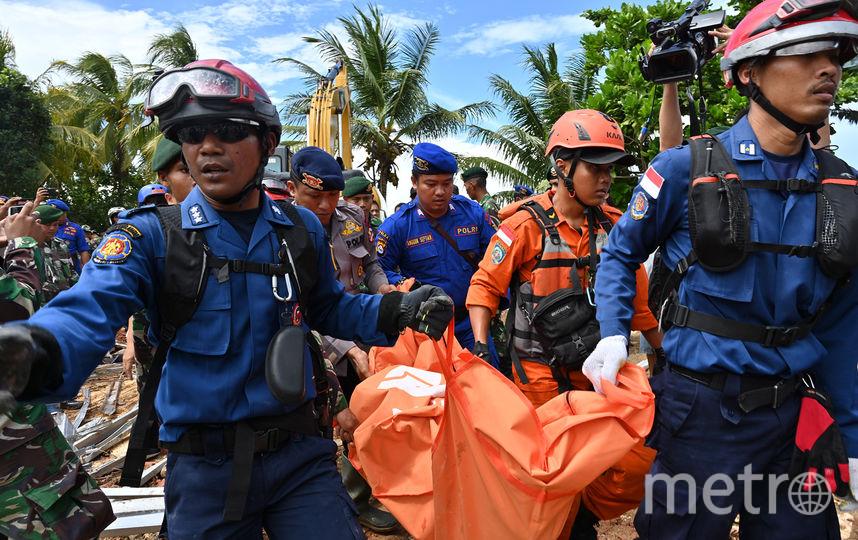 Число жертв цунами в Индонезии возросло до 281 человек. Фото AFP