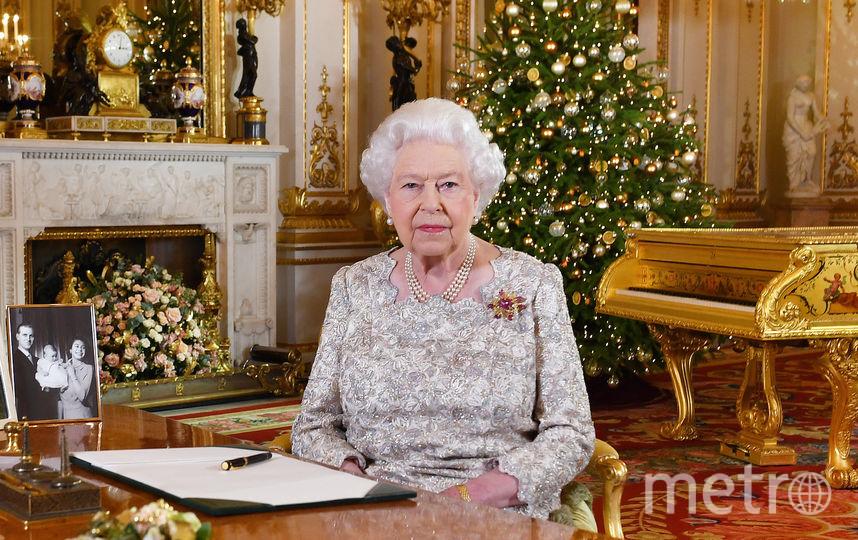 Фото королевы к Рождеству. Фото Getty
