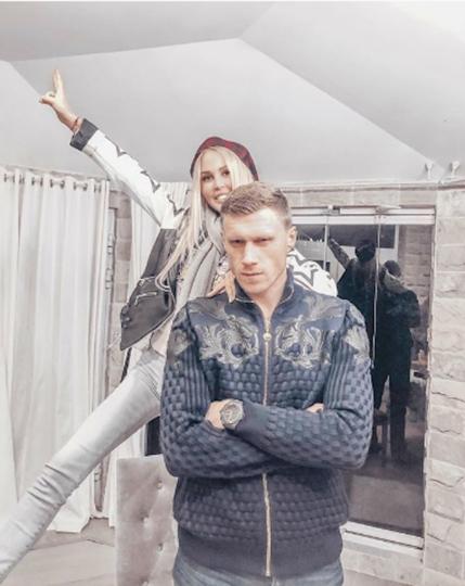 Павел и Мария Погребняк. Фото www.instagram.com/mariapoga_