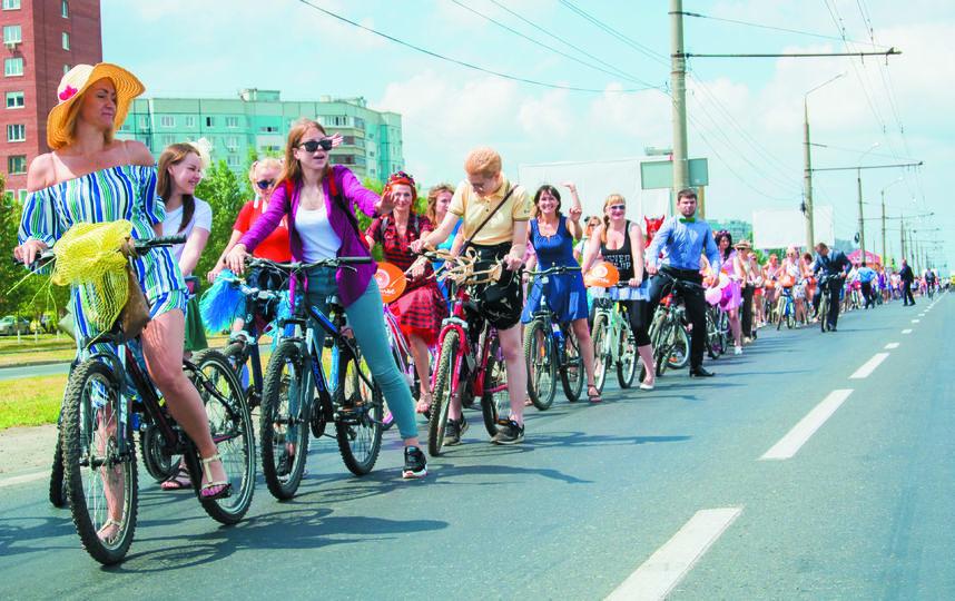 """Велодвижение в Тольятти крепнет. Фото Егор Важнов, """"Metro"""""""