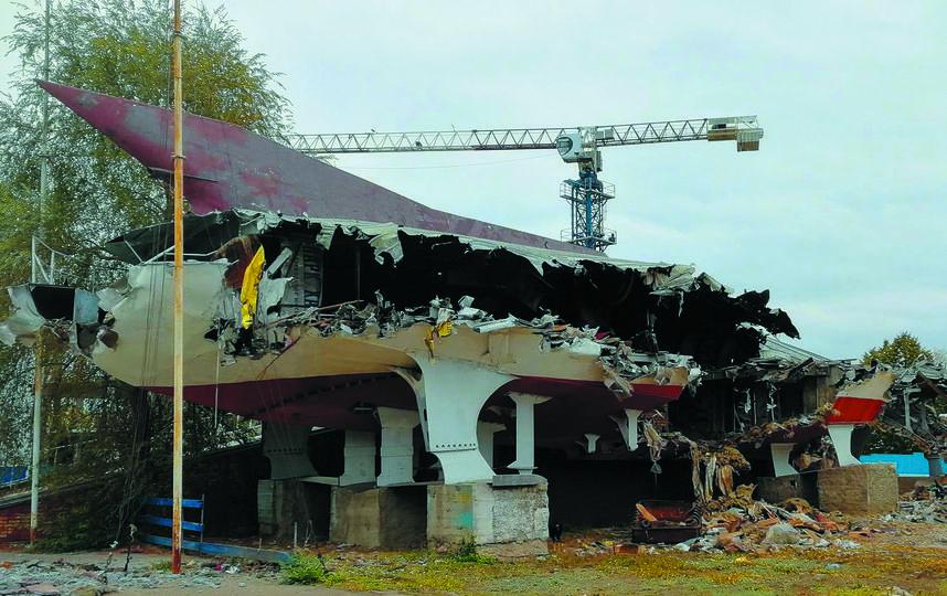 """Город теряет памятники. Фото Егор Важнов, """"Metro"""""""