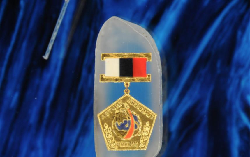 Экспонаты музея – знак лётчик-космонавт. Фото предоставил Владимир Анискин