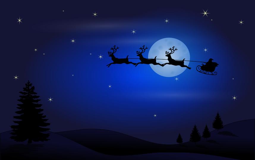 "Санта-Клаус начал путешествие. Фото https://pixabay.com, ""Metro"""