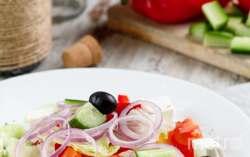 Греческий салат. Фото Предоставлено пресс-службой.
