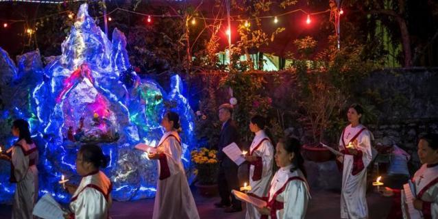 Вьетнам и Рождество.