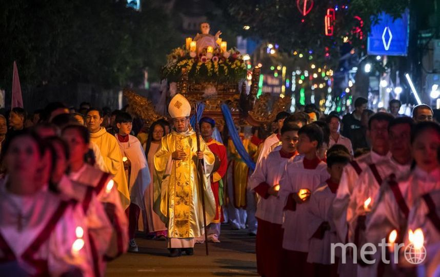 Вьетнам и Рождество. Фото Getty