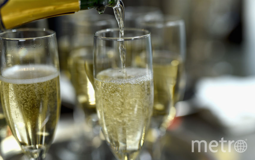 Шампанское. Фото Getty