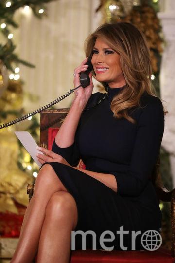 Мелания Трамп в Белом доме поговорила с детьми по телефону. Фото Getty