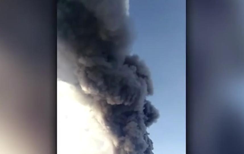 На Сицилии активизировался вулкан Этна. Фото скриншот видео www.iz.ru