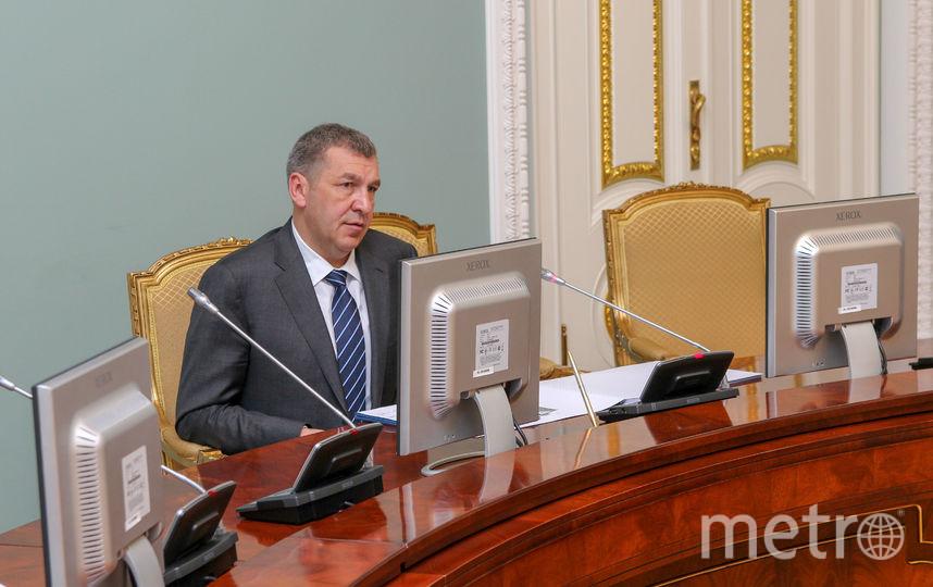 "Игорь Албин. Фото gov.spb.ru., ""Metro"""