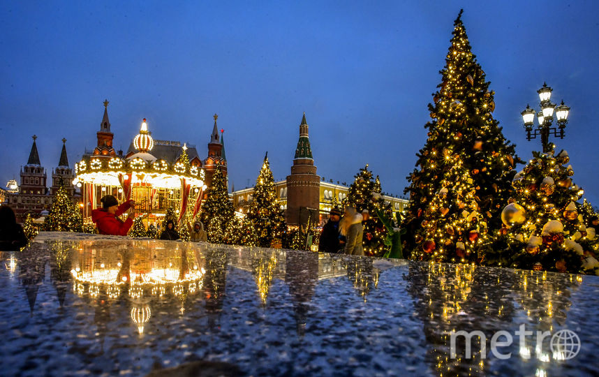 Уходящий 2018-й год был для Москвы успешным. Фото AFP