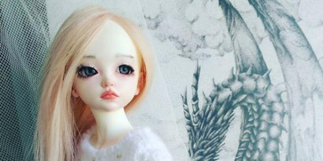 Кукла, сделанная Юлией и её мужем.
