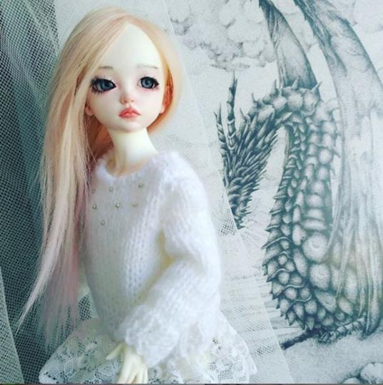 Кукла, сделанная Юлией и её мужем. Фото Скриншот Instagram/beira.dolls