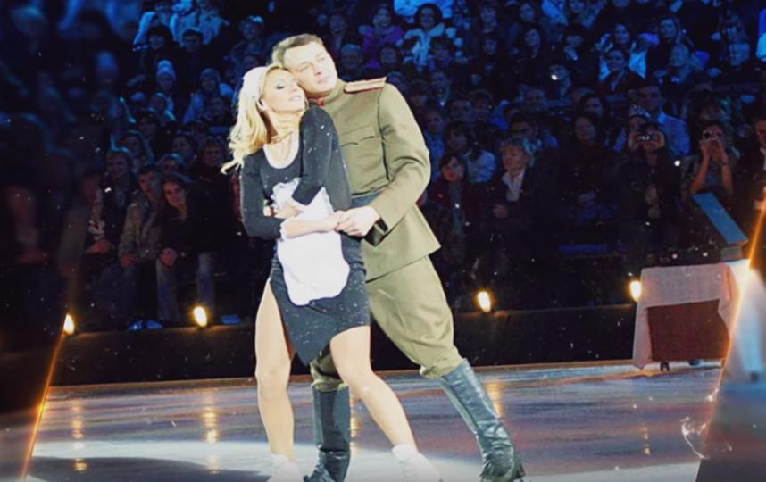 Марат Башаров и Татьяна Навка.. Фото Скриншот Youtube