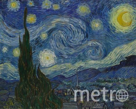 «Звёздную ночь» сможет дорисовать каждый. Фото Museum of Modern Art