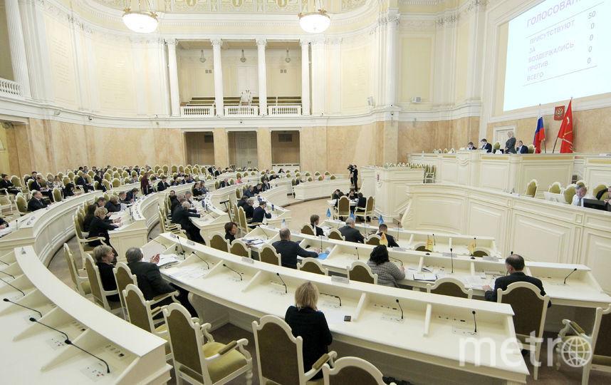 Петербургский депутат призвал ликвидировать школьные льготы для детей силовиков и судей. Фото www.assembly.spb.ru