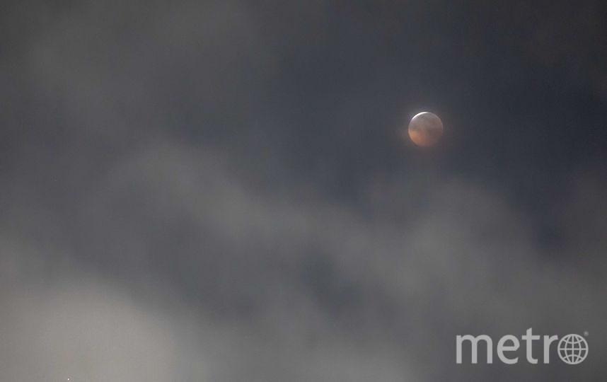 Полное затмение Луны нас ждет 21 января. Фото Getty
