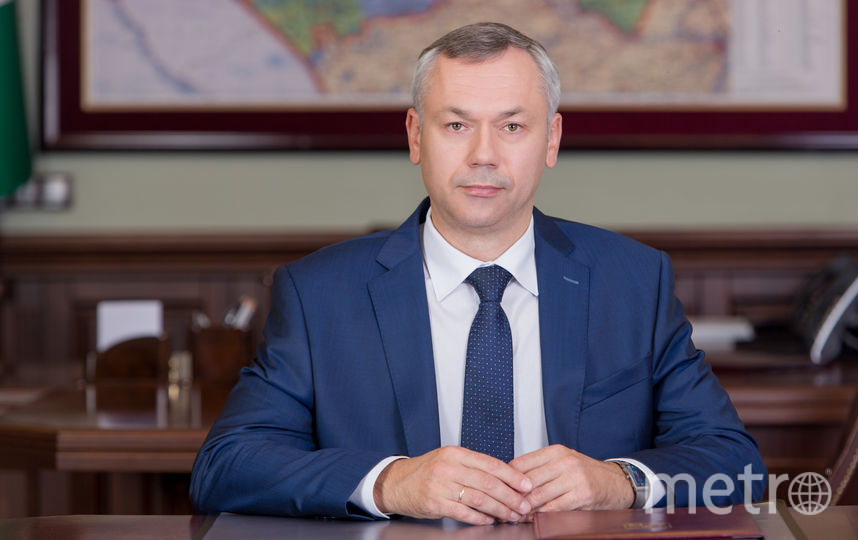 Андрей Травников, губернатор Новосибирской области. Фото Правительство НСО