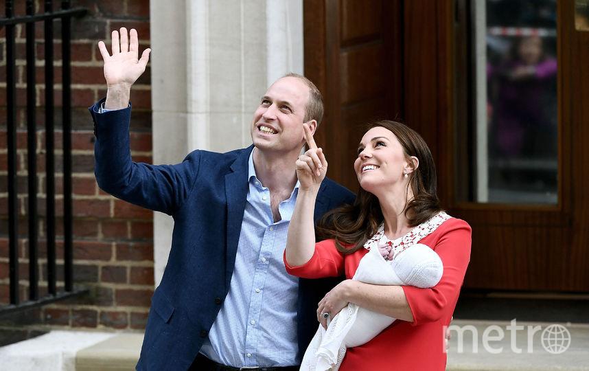 Рождение принца Луи. Фото Getty