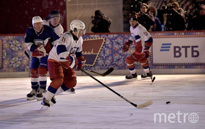 Матч на катке на Красной площади. Фото kremlin.ru