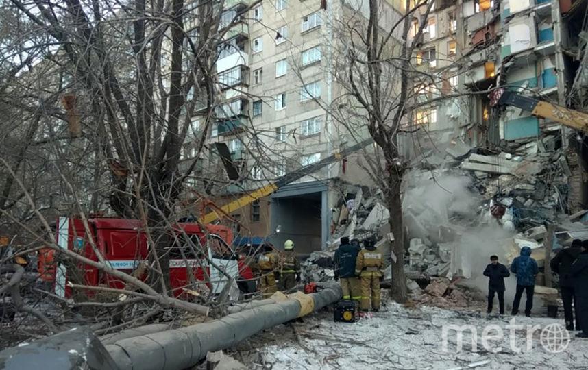 В жилом доме в Магнитогорске обрушился подъезд, под завалами люди. Фото AFP