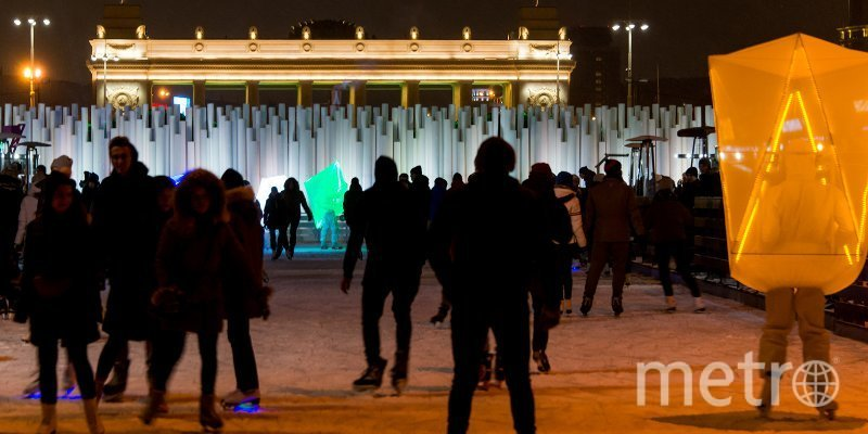 Каток в парке Горького. Фото mos.ru